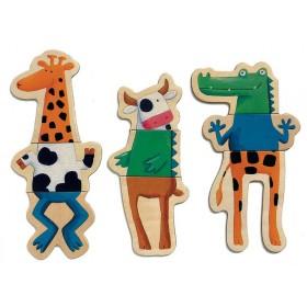 Djeco Magnetspiel Verrückte Tiere