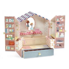 Djeco Spieluhr mit Schmuckkästchen TINOU SHOP