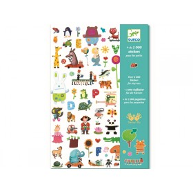 Djeco 1000 Sticker für die KLEINEN