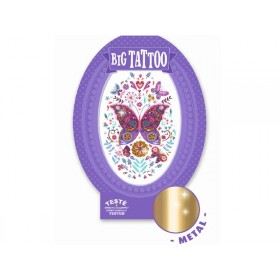 Djeco Riesen Tattoo SCHMETTERLING