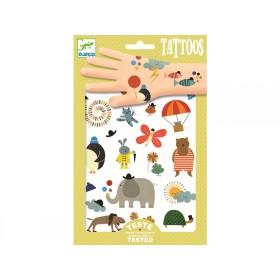 Djeco Tattoos Hübsche kleine Sachen Tiere