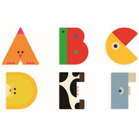 Djeco Tier-Buchstaben