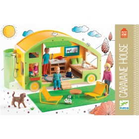 Djeco Puppenhaus Wohnwagen