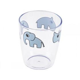 Done by Deer Yummy Mini-Glas DEER FRIENDS blau