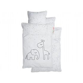 Done by Deer Baby-Bettwäsche DREAMY DOTS weiß (70x100)