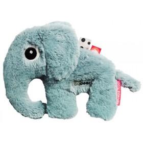 Done by Deer Kuscheltier Elefant Elphee blau klein