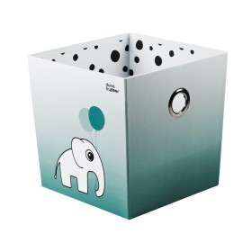 Done by Deer Stapelbox Elefant Punkte blau