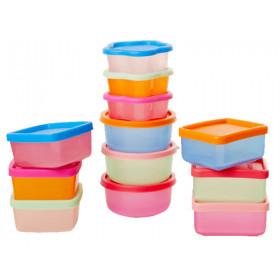 RICE 12 Kleine Frischhalteboxen Set