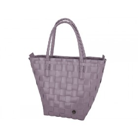 Handed By Safe Zip Shopper mauve