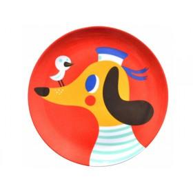 Helen Dardik Melaminteller Hund