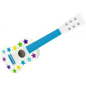 Jabadabado Gitarre Sterne blau