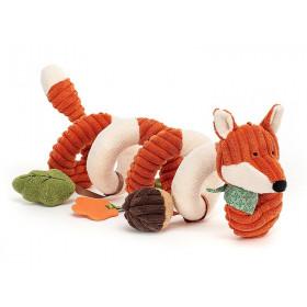 Jellycat Cordy Roy Baby AKTIVITÄTSSPIRALE Fuchs