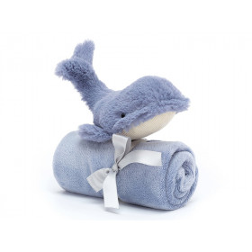 Jellycat Schnuffeltuch Sea Friends Wal WILBUR