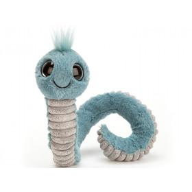 Jellycat Wiggly Wurm BLAU