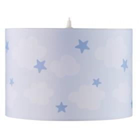 Kids Concept Deckenlampe Wolken blau
