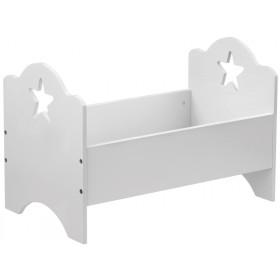 Großes Kids Concept Puppenbett Sterne weiss