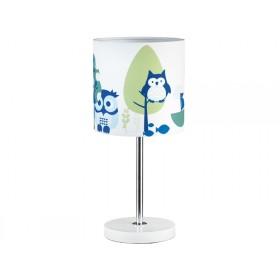 Kids Concept Tischlampe Eule blau