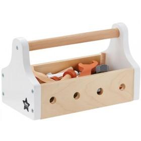 Kids Concept Werkzeugkiste weiss