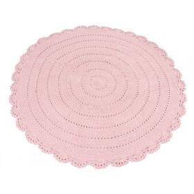 KidsDepot Teppich ROUNDY rosa