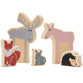 Kids Concept Waldtiere aus Holz EDVIN