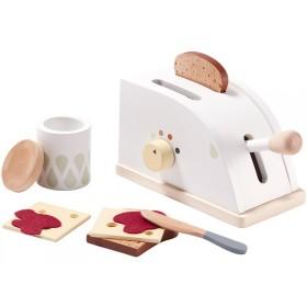 Kids Concept Toaster Set WEISS