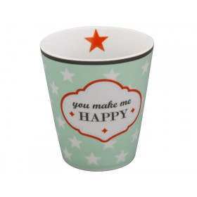 Krasilnikoff Becher Happy Mug You make me happy