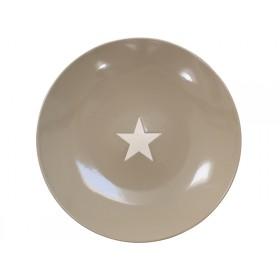 Krasilnikoff Essteller Brightest Star taupe