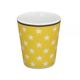 Krasilnikoff Eierbecher Sterne gelb