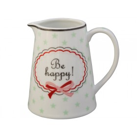 Krasilnikoff Milchkännchen Be happy