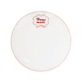 Krasilnikoff Teller Happy Plate Home made
