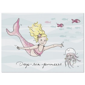 krima & isa Postkarte Deep Sea Princess