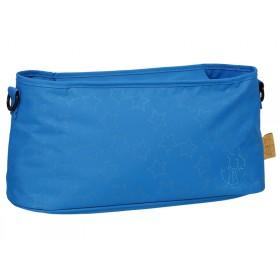 Lässig Kinderwagentasche REFLECTIVE STAR blau