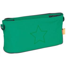 Lässig Kinderwagentasche STERN grün