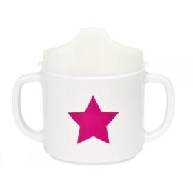 Lässig Babytasse Starlight magenta