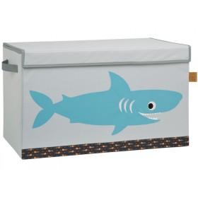 Lässig Spielzeugkiste Hai