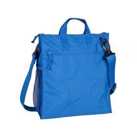 Lässig Wickeltasche Buggy Bag Regular Star blau