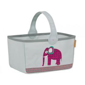 Lässig Wickeltisch-Korb Elefant