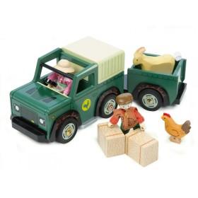 Le Toy Van BAUERNHOF FAHRZEUG