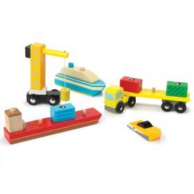 Le Toy Van Hafen Spielset