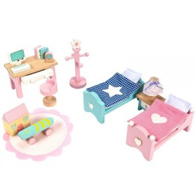 Le Toy Van Puppenhaus Daisylane Kinderzimmer