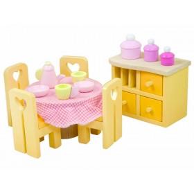 Le Toy Van Puppenhaus Esszimmer