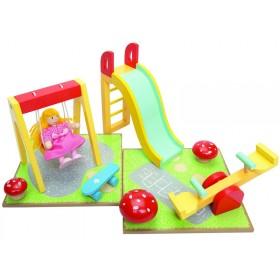 Le Toy Van Puppenhaus Spielplatz