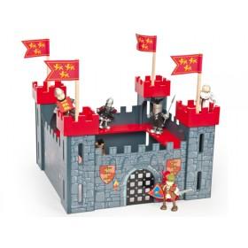 Le Toy Van Meine erste Ritterburg rot
