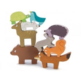 Le Toy Van Stapelspiel Waldtiere