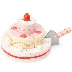 Le Toy Van Erdbeer-Hochzeitstorte