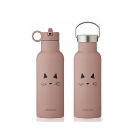 LIEWOOD Wasserflasche Neo KATZE rose