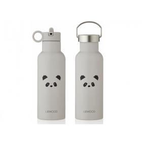 LIEWOOD Wasserflasche Neo PANDA light grey