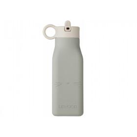 LIEWOOD Wasserflasche Warren KATZE dove blue
