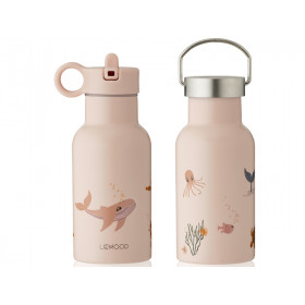 LIEWOOD Wasserflasche Anker SEA CREATURE Rose Mix