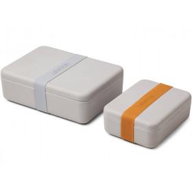 LIEWOOD Lunchbox Set BRADLEY grau